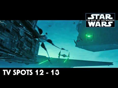 Star Wars The Rise of Skywalker TV Spot Trailers 12 - 13