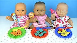 ЧУПА ЧУПС ПОСЛУШНЫМ ДЕВОЧКАМ! Пупсики #Бьянка Маша Алёна Кушают Играем в Куклы Как мама