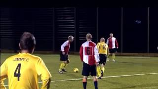 Paul Scholes Goal from own half, Chadderton Park Legends v Chaddy Park Vets