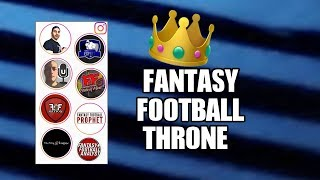 Ready for The Game of Fantasy Football Thrones? Fantasy Football 2019 Followers vs Followers