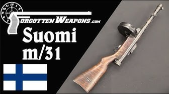 Suomi m/31 - Finland's Excellent Submachine Gun