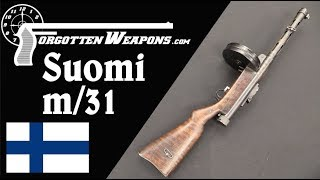 Suomi m/31 - Finland's Excellent Submachine Gun