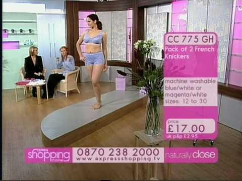 Naturally Close - Blue Bra and Panties. http://bit.ly/2FRvjJg