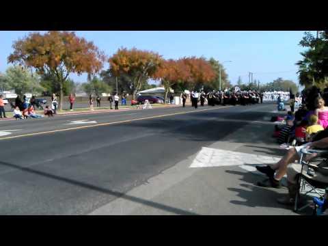 Merced High School Marching Band CCBR 2014