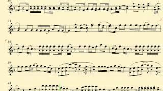 Heart Attack -- Demi Lovato - Baritone Sax - Sheet Music, Chords, and Vocals