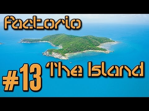 Factorio The Island (Modded) - 13 - Reconfiguration