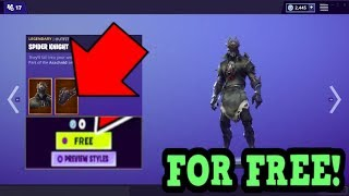 HOW TO GET SPIDER KNIGHT SKIN FOR FREE! (Fortnite Old Skins)