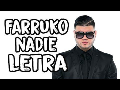Farruko - Nadie (Letra/Lyrics)