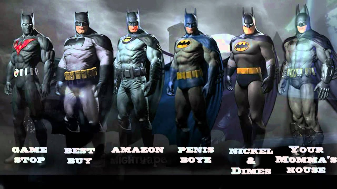 & Arkham City Costumes / Pre-Order - YouTube