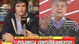 Martín Amestoy y Luis Ventura en Infama