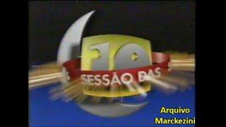 Intervalo - Sessão das Dez (SBT/1997)