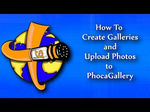 How To Create Galleries And Upload Pictures To Phoca Gallery - A Photo Gallery For Joomla
