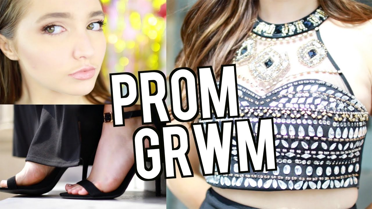Get prom ready with me hair makeup dress - Prom Get Ready With Me Makeup Hair Dress 2016 Kenzie Elizabeth Youtube
