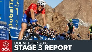 Dubai Tour 2016 Stage 3 Race Report
