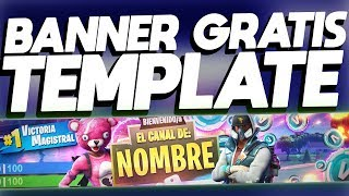 | I MAKE BANNER FREE ? BANNER FREE TEMPLATE BY FORTNITE