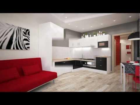 GDH Дизайн и планировка 1 комнатной квартиры 23 фото