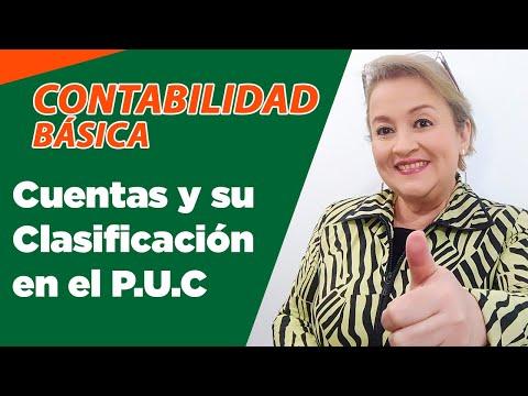 9. Las Cuentas y su Clasificación en el Plan Único de Cuentas - P.U.C. - ElsaMaraContable