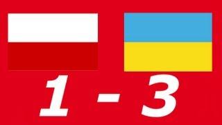 Polska-Ukraina 1-3 [Skrót]