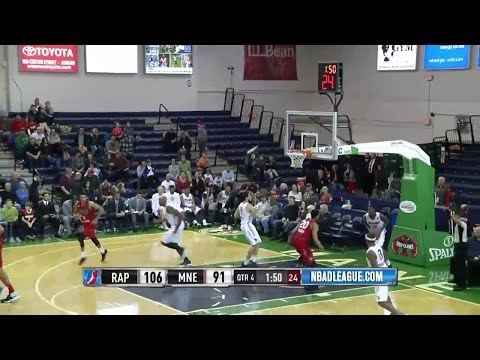 Walter Tavares posts 14 points & 12 rebounds vs. the Red Claws, 1/12/2017
