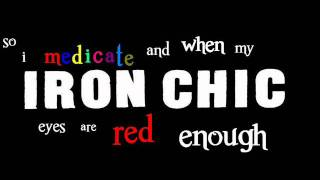Iron Chic Cutesy Monster Man Lyrics.wmv