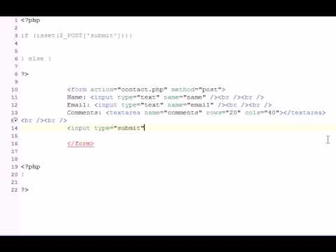 How to Make a PHP Contact Us Form With Form Validation