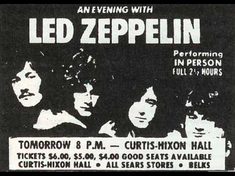 How Many More Times - Led Zeppelin (live Tampa 1970-04-09)
