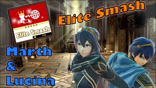 getting my Marth and Lucina into Elite Smash
