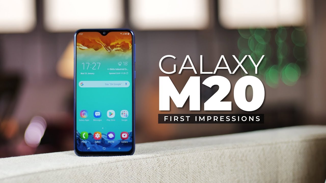 Samsung Galaxy M20 First Impressions! image