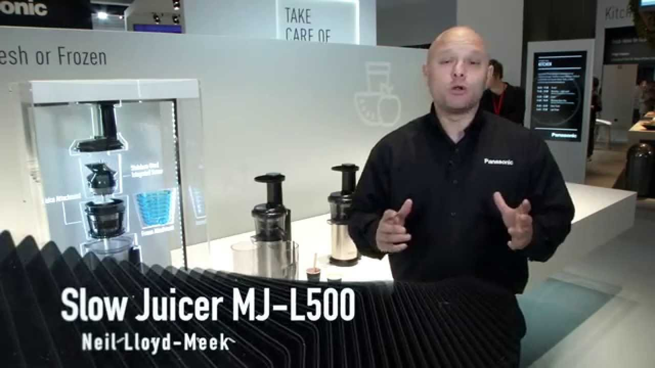 Slow Juicer Test : Panasonic slow juicer test Kokkenredskaber