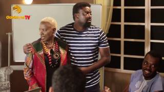 """WALE OJO, ANGELIQUE KIDJO, HILDA DOKUBO IN BEHIND THE SCENES, """"THE CEO"""" PRODUCED BY KUNLE AFOLAYAN"""