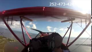 Outer Banks Biplane air tour with Gabe and Caitlin Valle over the OBX Thumbnail