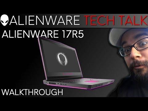 Alienware 17R5 Command Center Overclocking (Windows 10