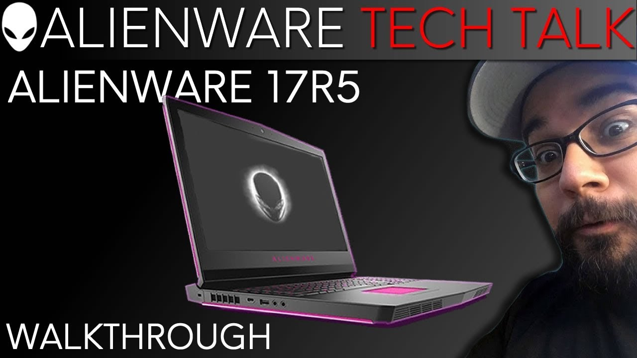 Alienware 17R5 Command Center Overclocking (Windows 10