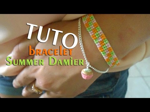 TutoBracelet amp;co Damier Partenariat Summer Youtube Perles CBdoxrWe