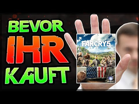 BEVOR IHR FAR CRY 5 KAUFT - Lohnt sich Far Cry 5? - Far Cry 5 Review deutsch / german bald
