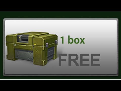Tanki Online - How To Get FREE CONTAINERS