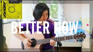 Better Now - Post Malone (fingerstyle guitar cover) (free tabs) Video
