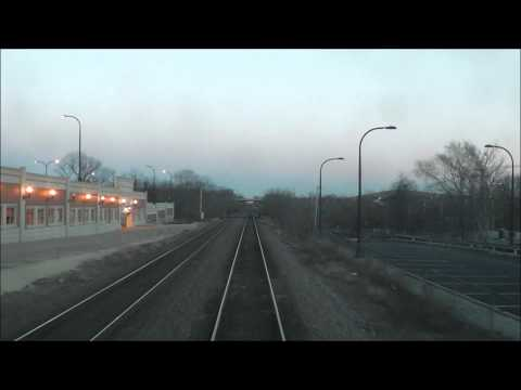 Metra UP-West Line Cabcar View: Elburn to Winfield, w/ Ex-C&NW 6737, 01.01.13