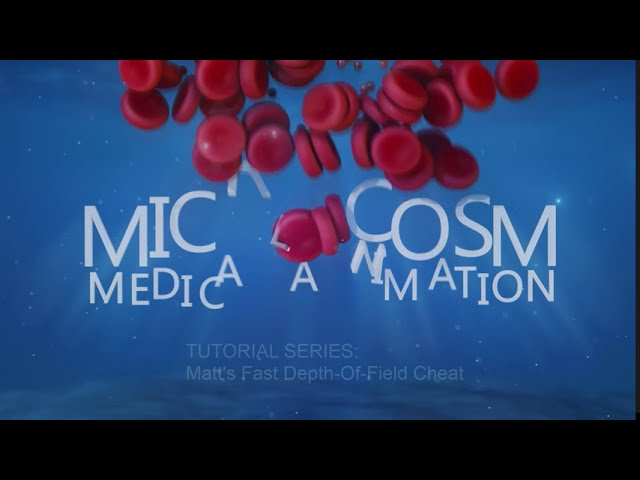 Cheat your way to faster depth of field! A C4d/Redshift tutorial from Microcosm medical Animation.