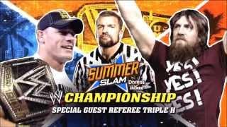 WWE Summerslam 2013 Official Match Card (HD)