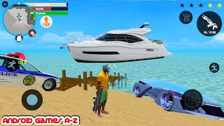 Real Gangster Crime #135 - speedboat | Best Android GamePlay FHD screenshot 4