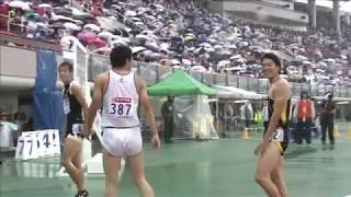 第98回日本陸上競技選手権大会 男子 110mH 予選 3組