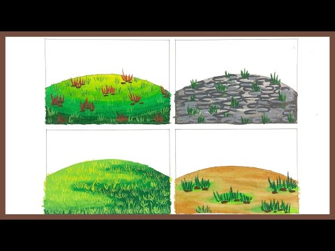 4 Cara Mewarnai Gradasi Tanah Youtube