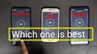 Fastest 4G Speed Comparison: Airtel vs JIO Vs Vodafone | 2019 | Giveaway