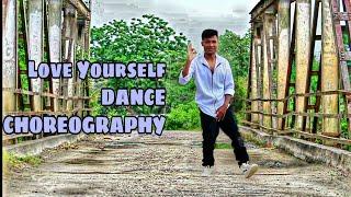 Justin Beiber Love Yourself Dance Choreography by Darpan Phukan