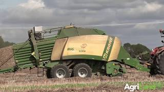 AgriLand talks to a busy big square baling contractor...running 3 Krone BiG Packs