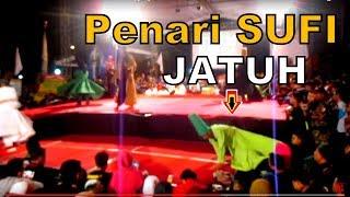 Detik-detik Penari Sufi Kecelakaan Jatuh Di-Panggung