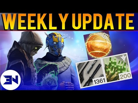 Buying Weapon Parts - Worm Spore & Etheric Light Updates! - Bungie Weekly Update