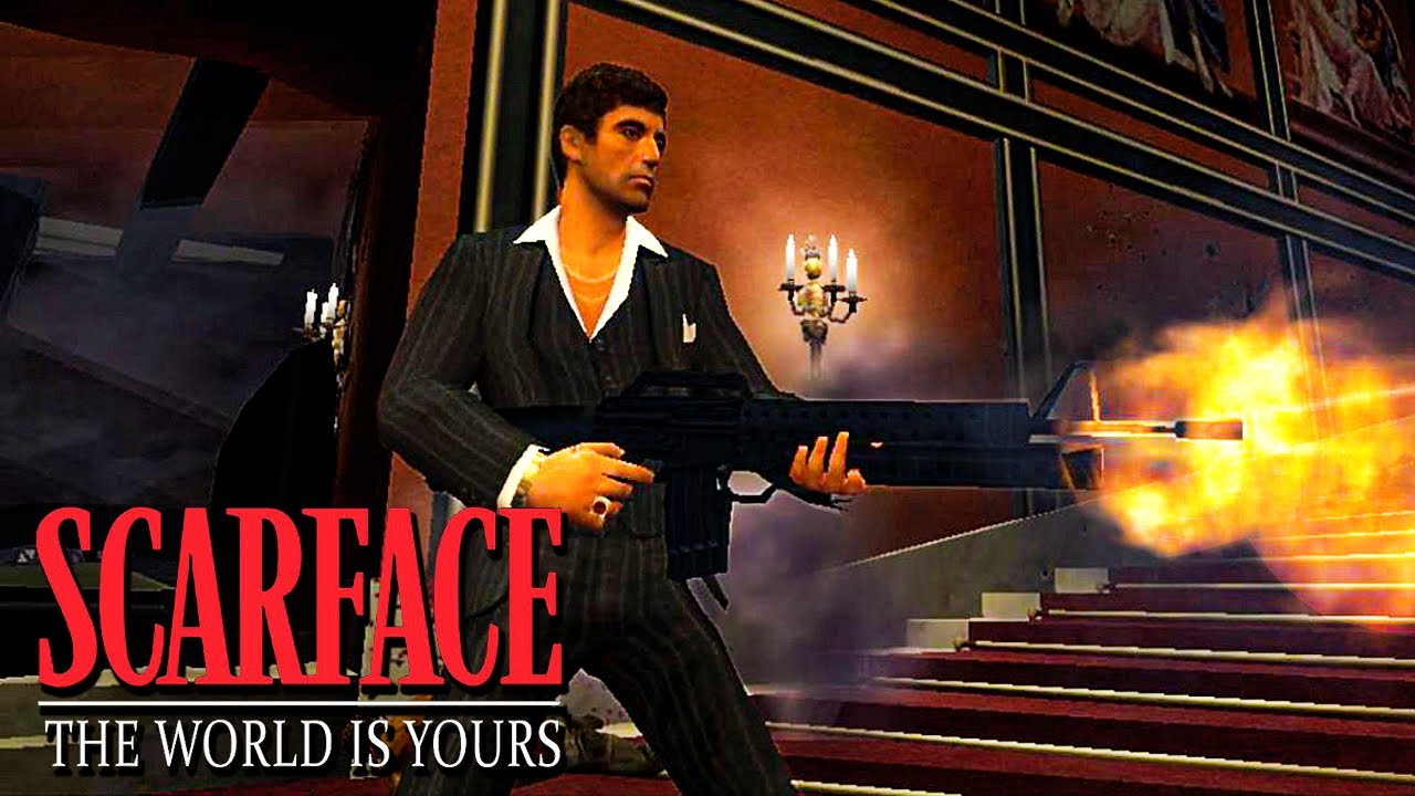 Scarface The World Is Yours Intro Mission 1 Mansion Shootout Youtube