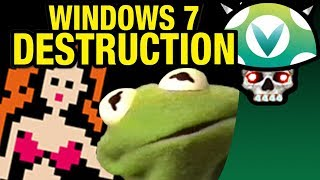 [Vinesauce] Joel - The Desktop Stripper Story ( Windows 7 Destruction )